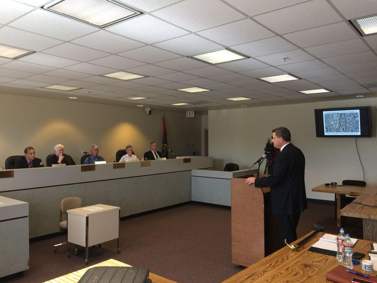 Rio Nuevo board meeting