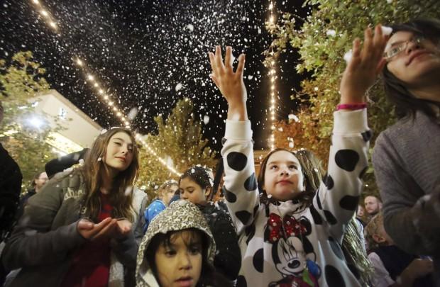 'Enchanted Snowfall' at La Encantada