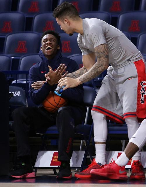 No. 18 Arizona Wildcats vs. Oregon State men's college basketball