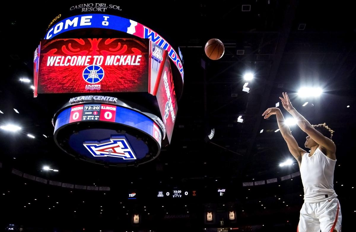 Arizona Wildcats vs Illinois Men's Basketball