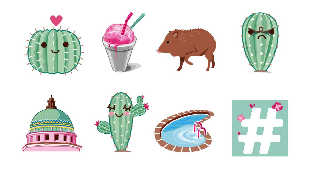 This Is Tucson emoji stickers for iMessage and Android