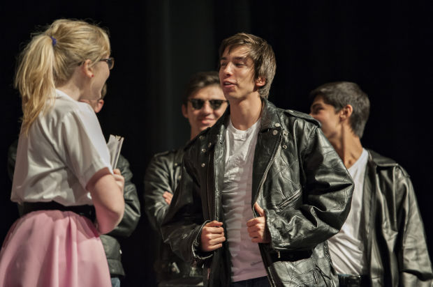 Grease, the musical, at IRHS