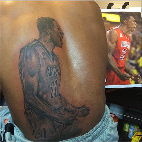Rondae Hollis-Jefferson tattoo