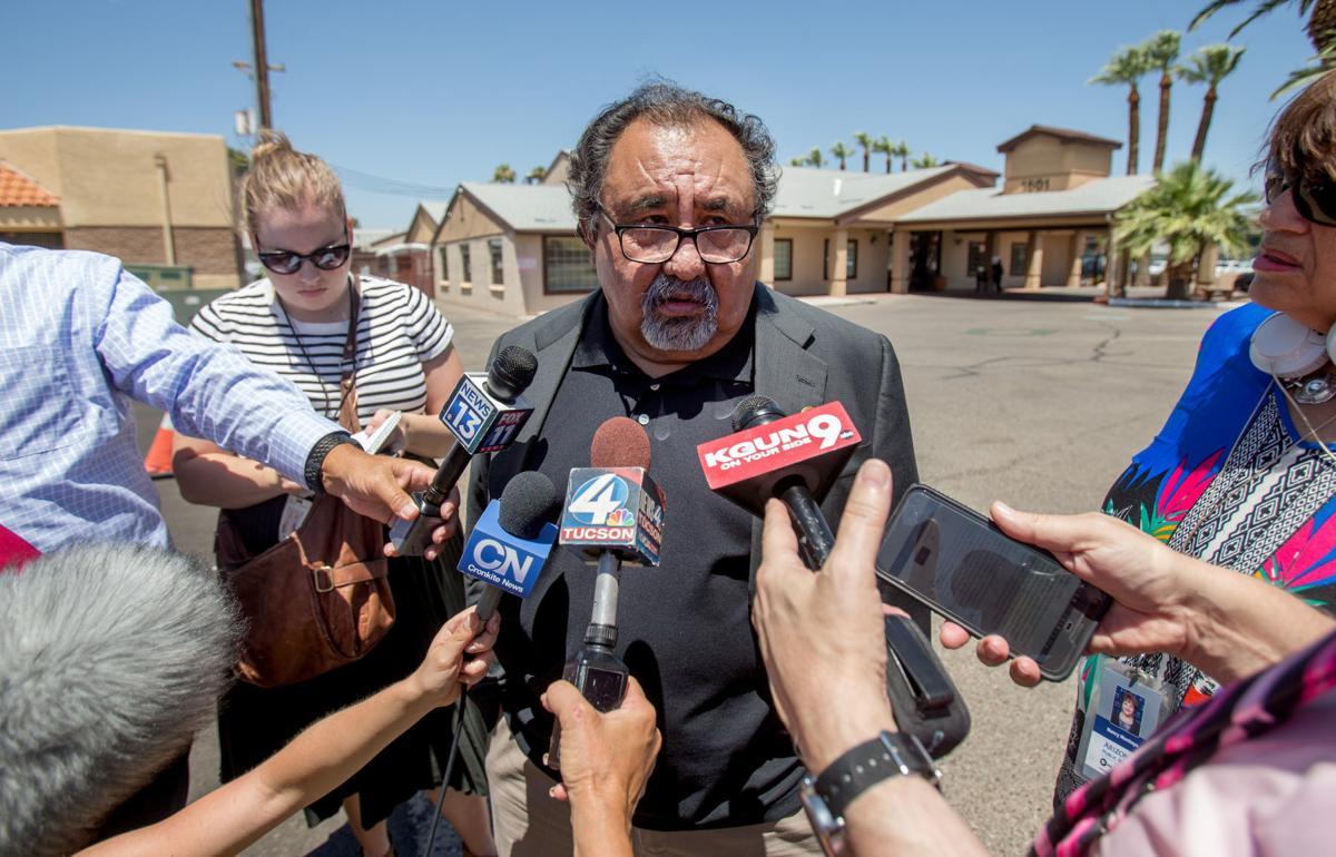Raul Grijalva tours Southwest Key
