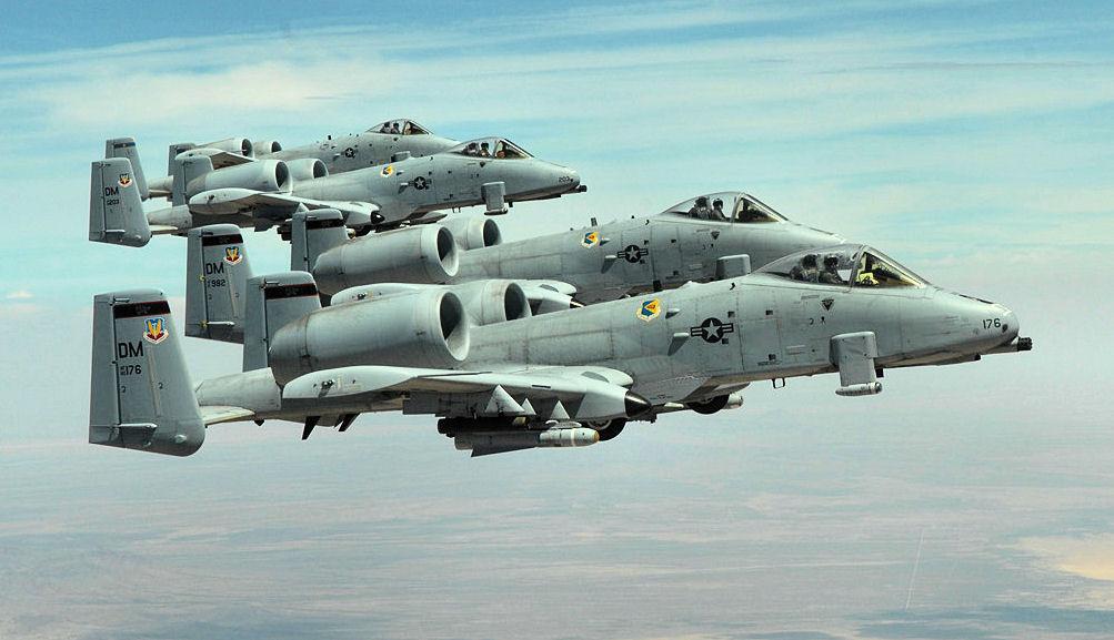 A-10 Thunderbolt at Davis-Monthan AFB