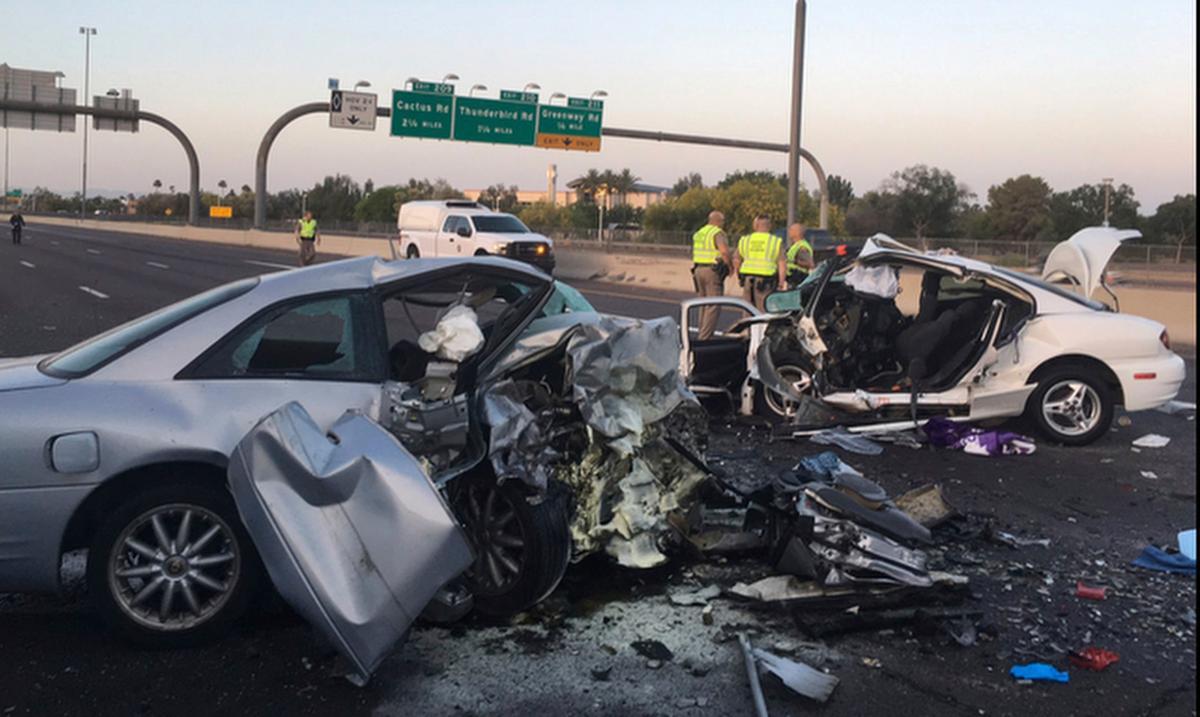 Phoenix wrong-way crash