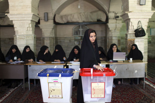 Iran moderate could have a chance, can change little