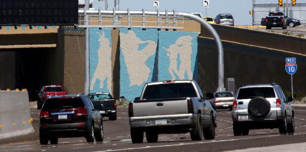 Interstate murals