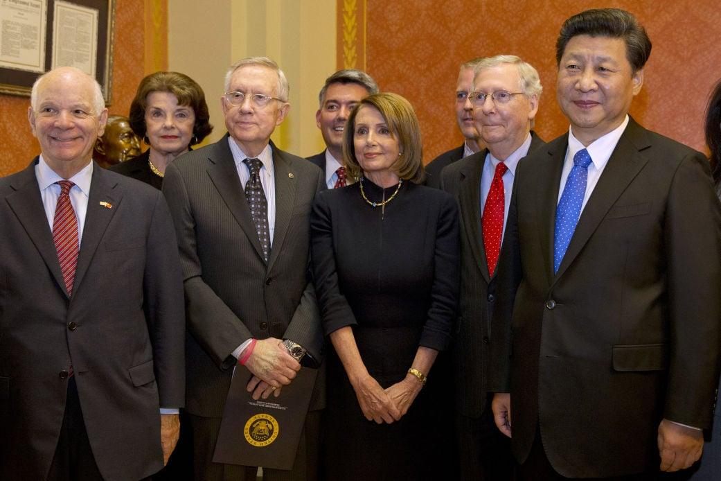 Xi Jinping, Nancy Pelosi, Mitch McConnell, Harry Reid, Dianne Feinstein,  Cory Gardner, Dan Sullivan | | tucson.com
