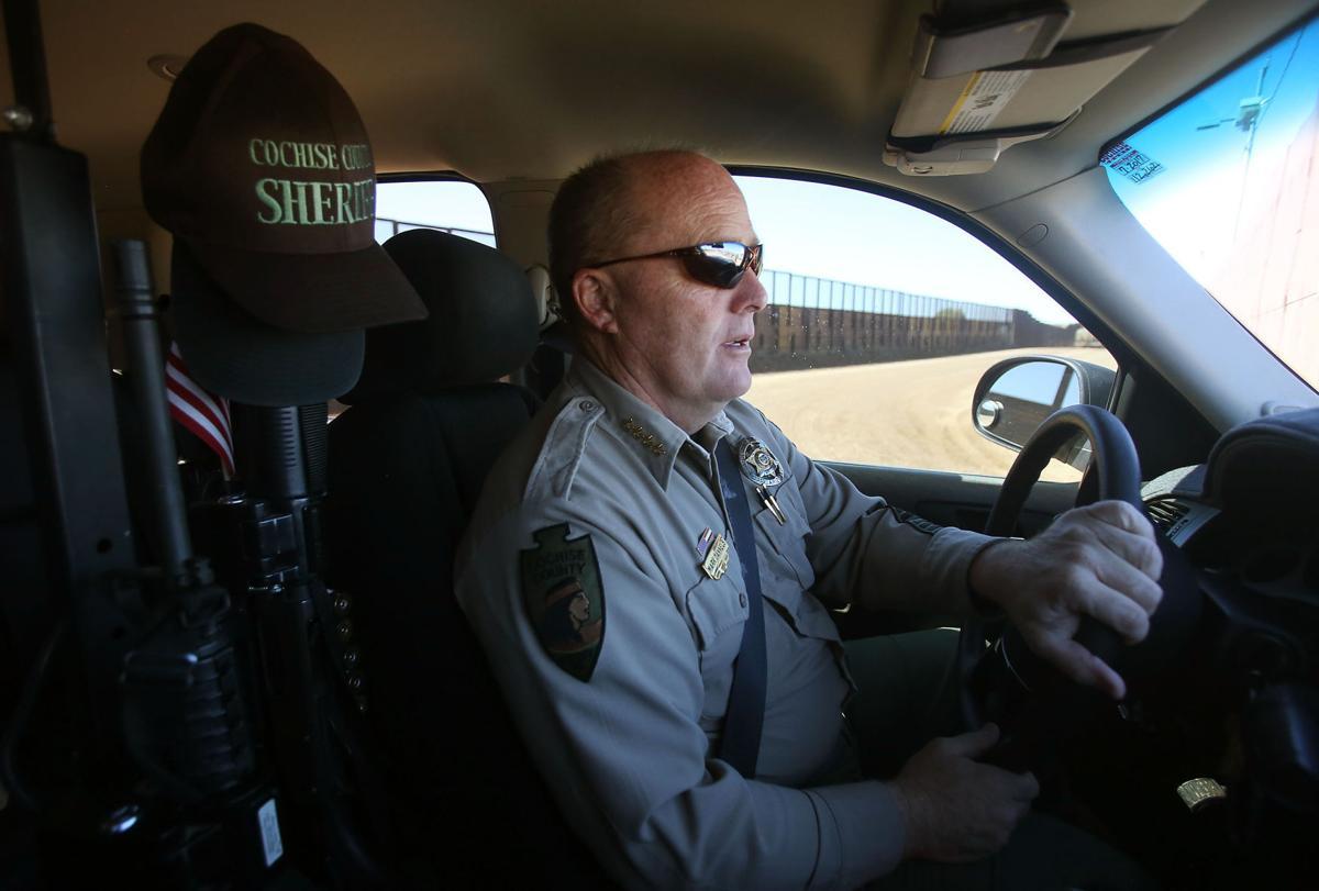 Cochise County Sheriff Mark Dannels