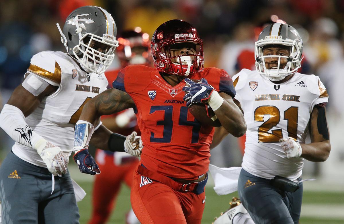 Arizona State Sun Devils vs. Arizona Wildcats in the Territorial Cup
