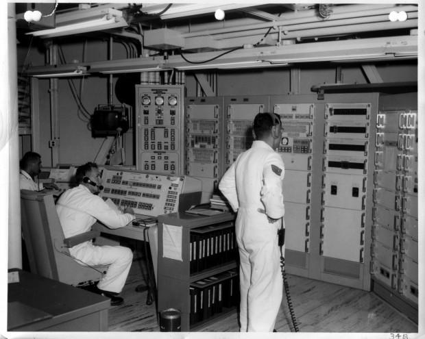Titan II missile crew on 'alert'