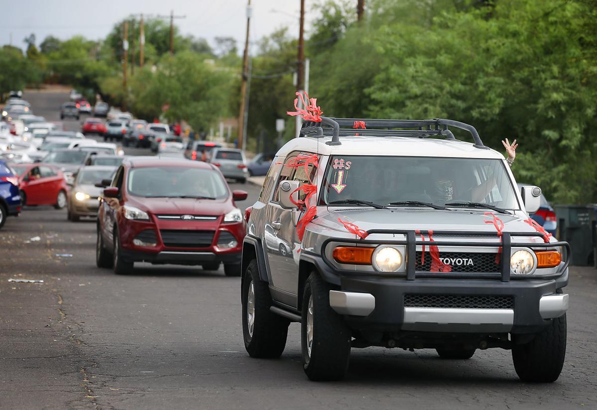 Motor March, Tucson educators