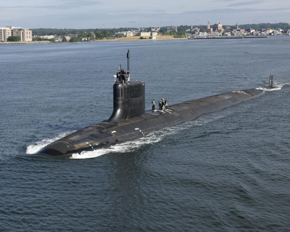 Submarine USS Illinois