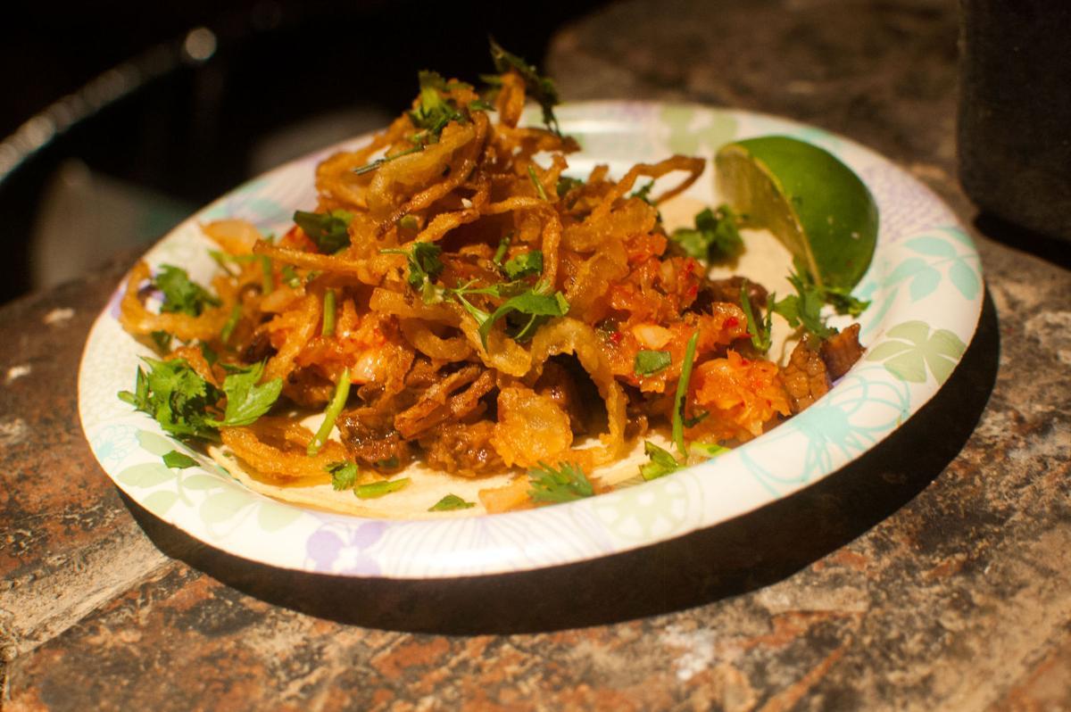 Korean tacos at La Cocina