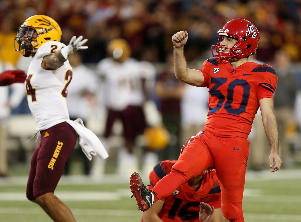 Arizona Wildcats vs. Arizona State Sun Devils in the 2018 Territorial Cup