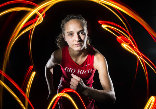 Fall 2013 Girls Cross Country Runner of the Year Alllie Schadler