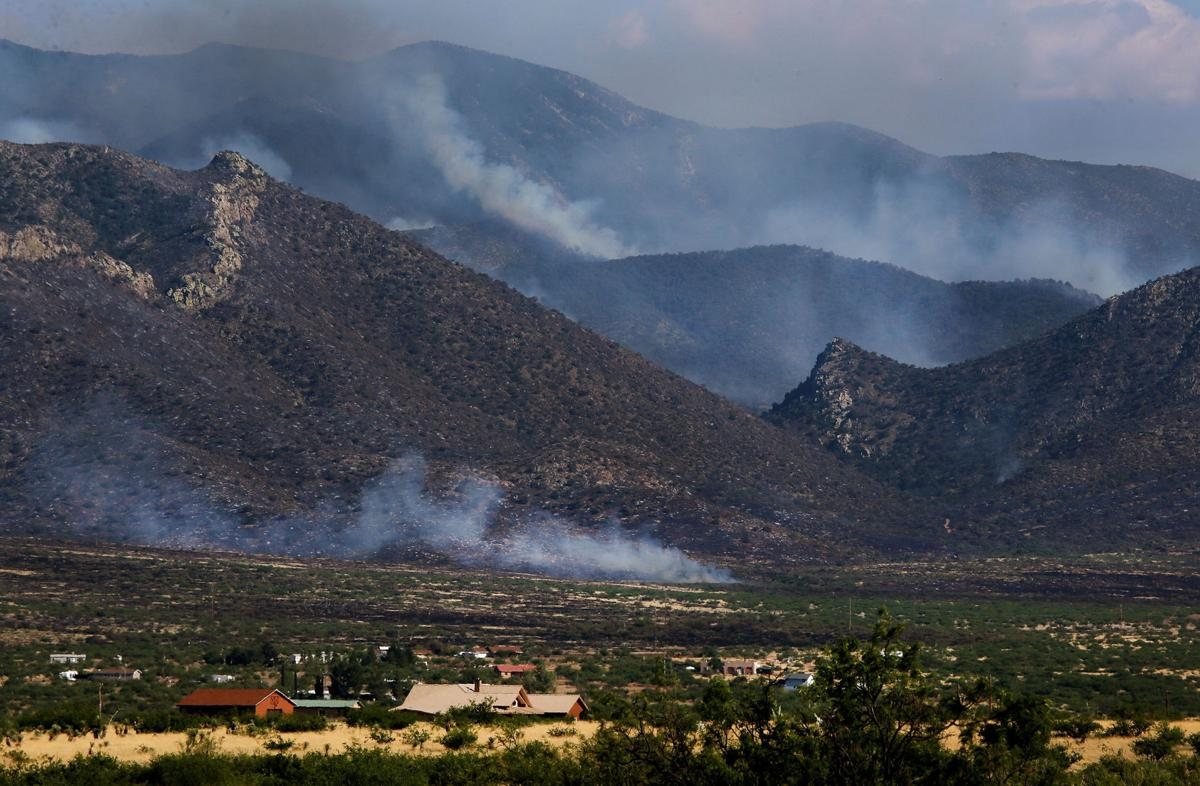 Arizona cochise county cochise - Red Flag Warning Issued As Several Wildfires Burn In Cochise County