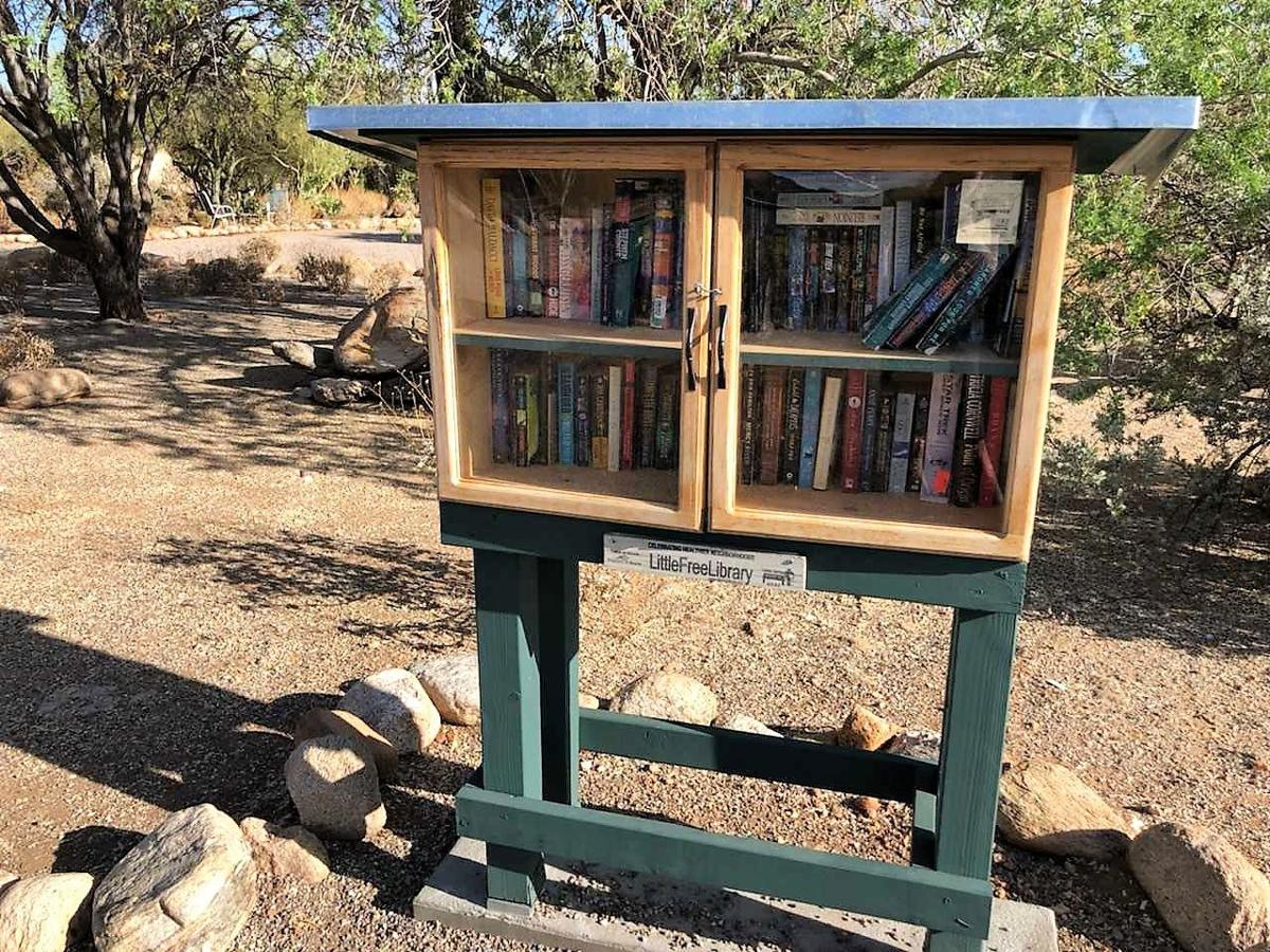 Little Free Library Skyway and Chula Vista