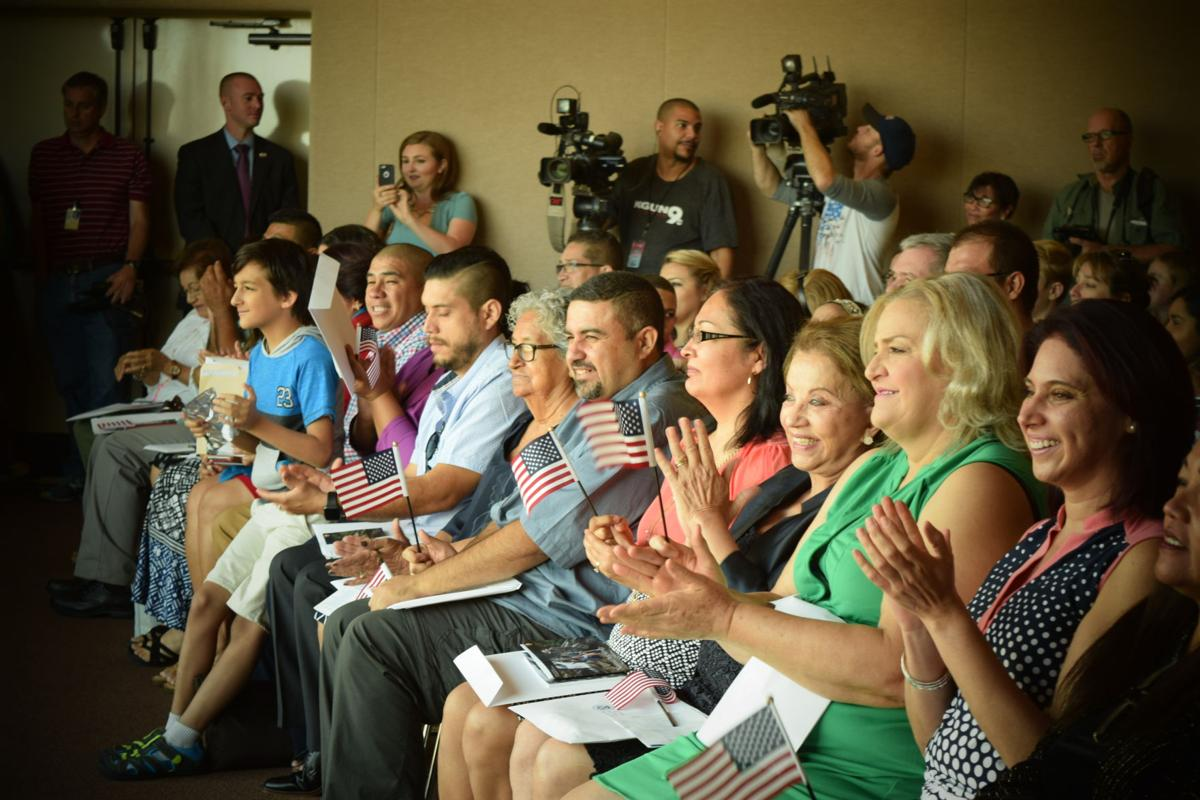 Naturalization Ceremony at Saguaro National Park