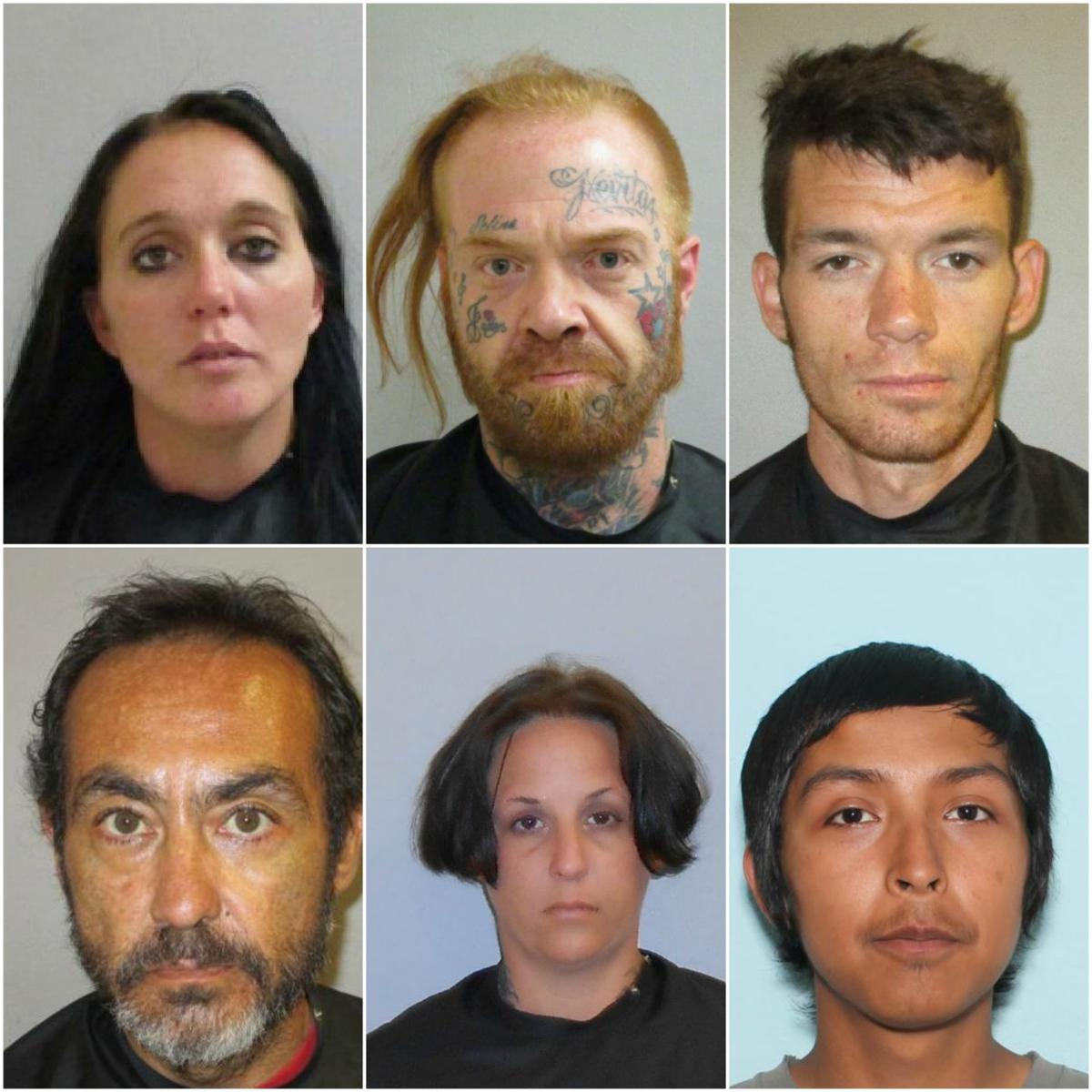 Heroin arrests