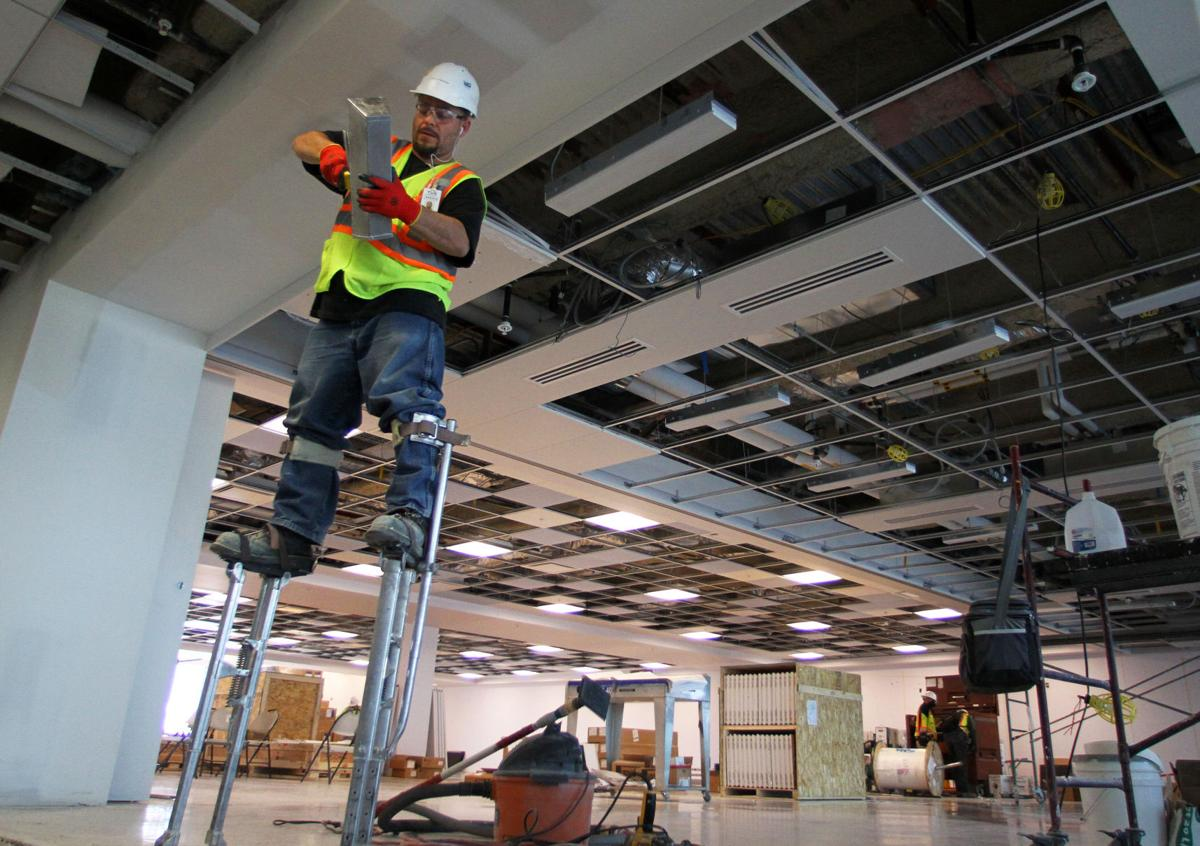 Terminal improvements at Tucson International Airport