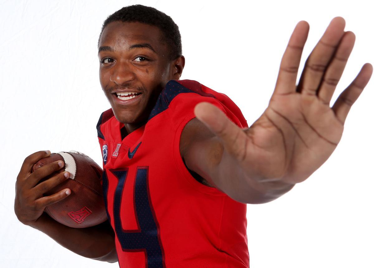 UA quarterback Khalil Tate (copy)