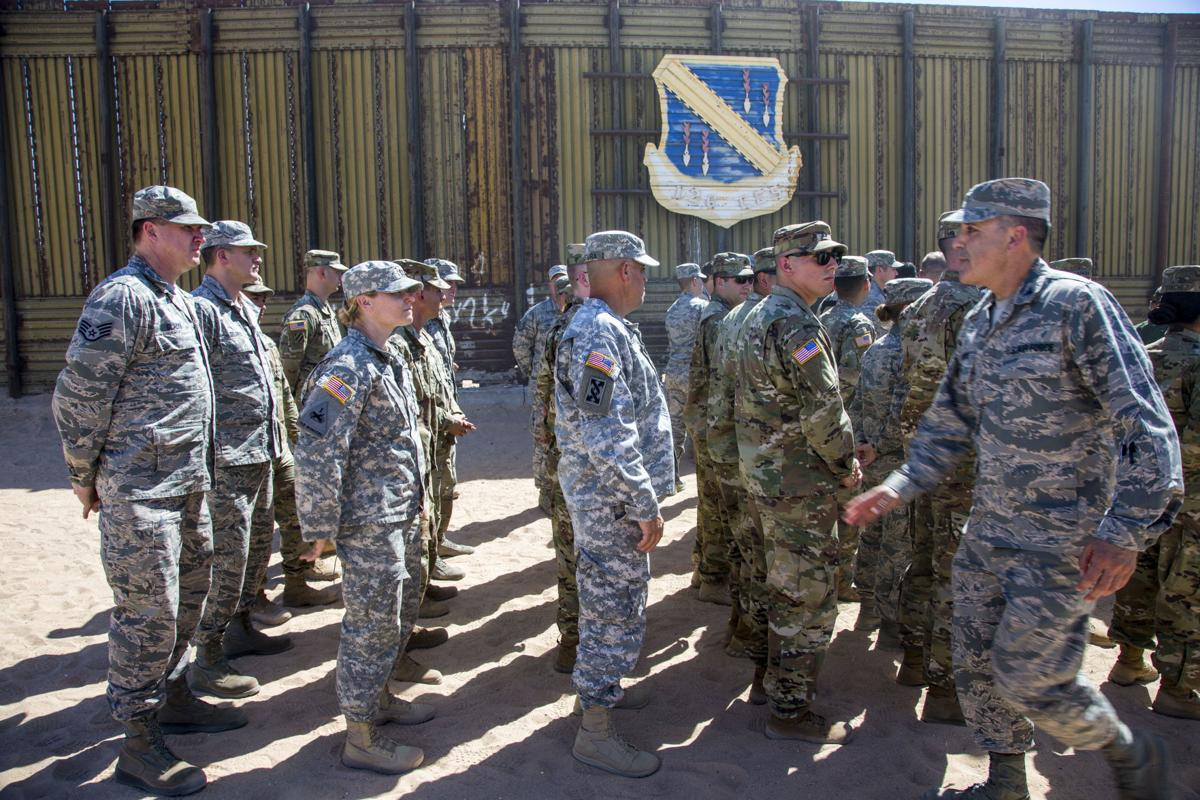 National Guard at Mexican border