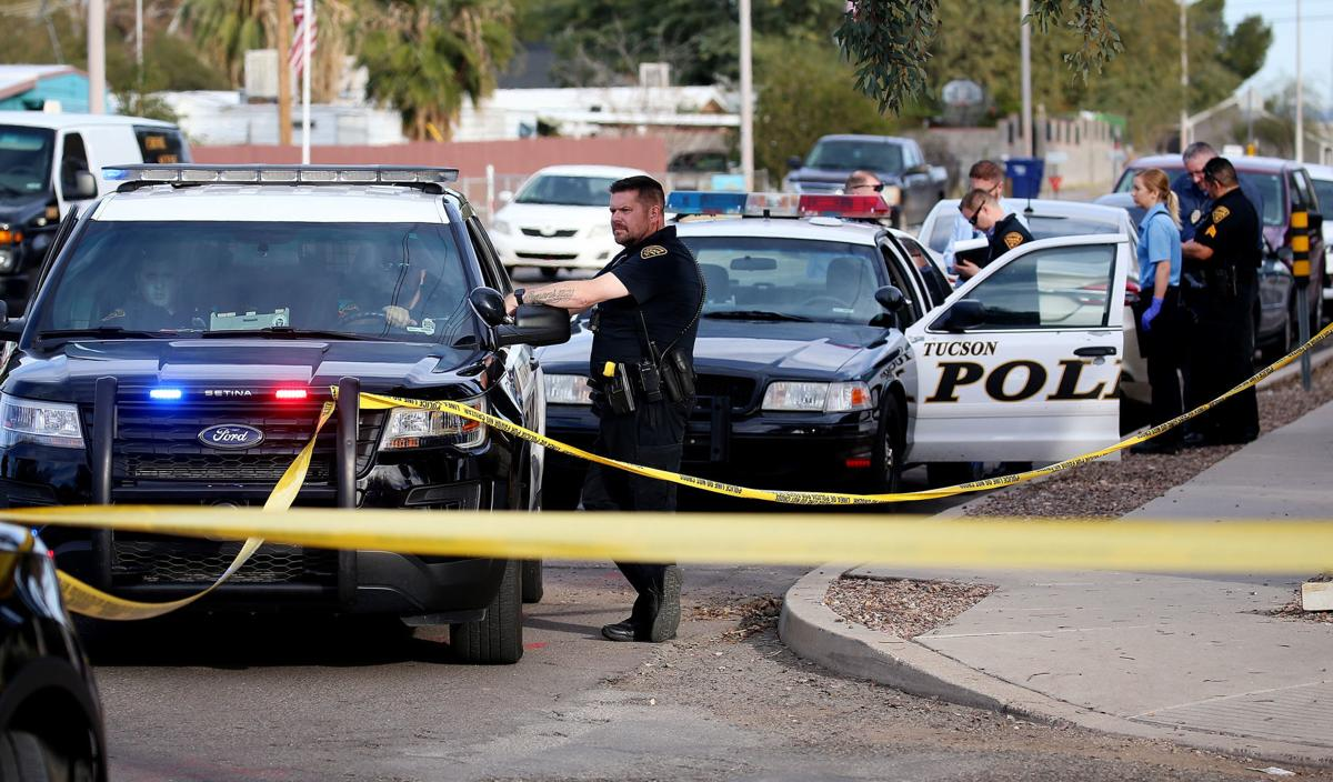 Tucson Police Department crime scene