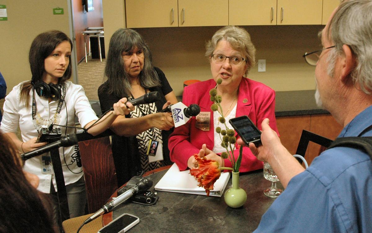 Arizona schools chief Diane Douglas.
