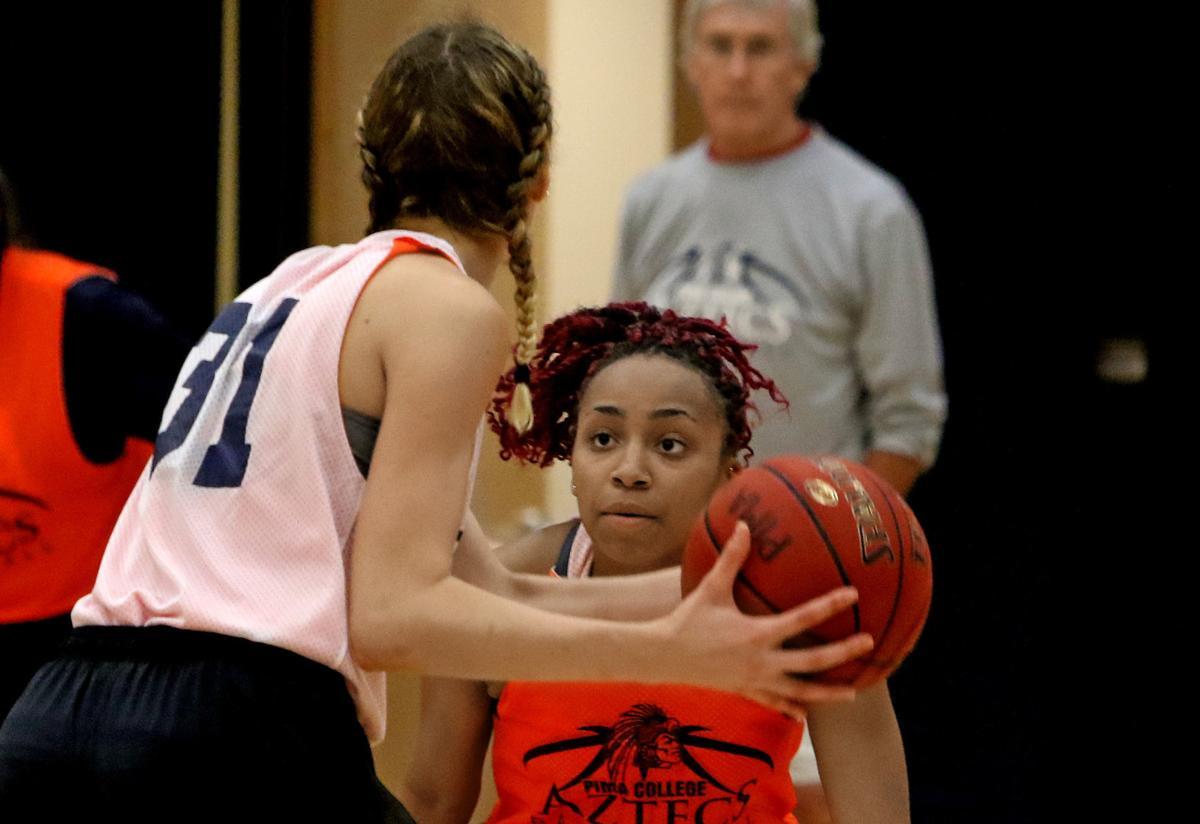 Pima women's basketball