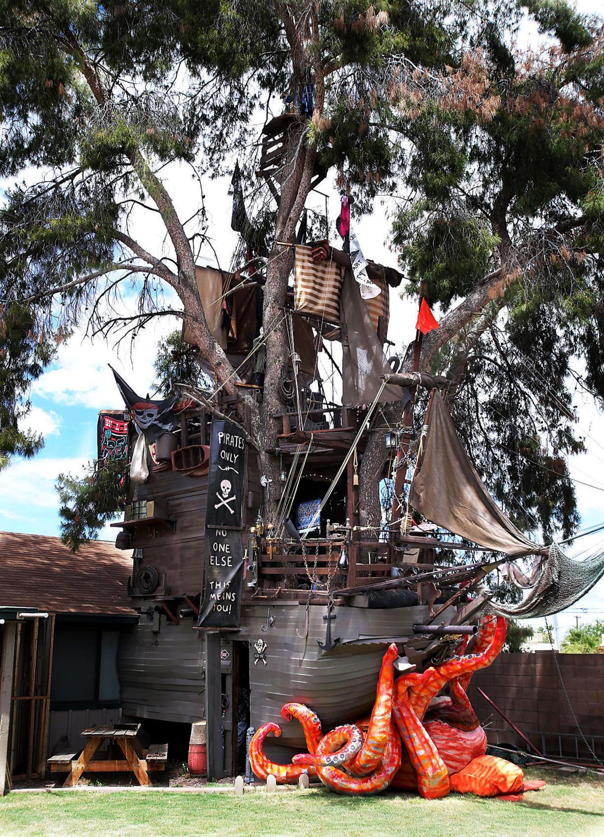Disney movie inspires Casa Grande man to build pirate ship ...