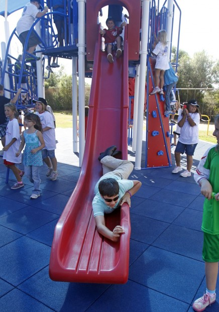 Playground opens in Christina's honor