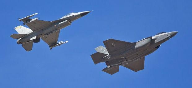F-35 arrives at Luke Air Force Base