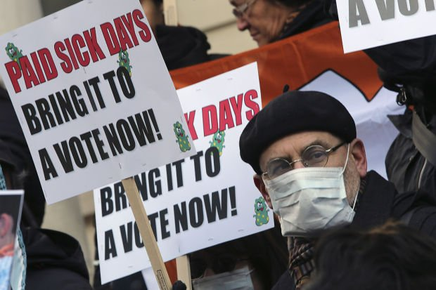 Sick leave grows as divisive issue for small firms