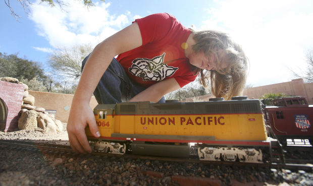 Ryan MacCabe's garden railway
