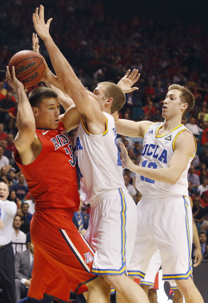 Pac-12 basketball tournament: No. 21 UCLA 66, No. 18 Arizona 64: Bruins school Cats 3rd time