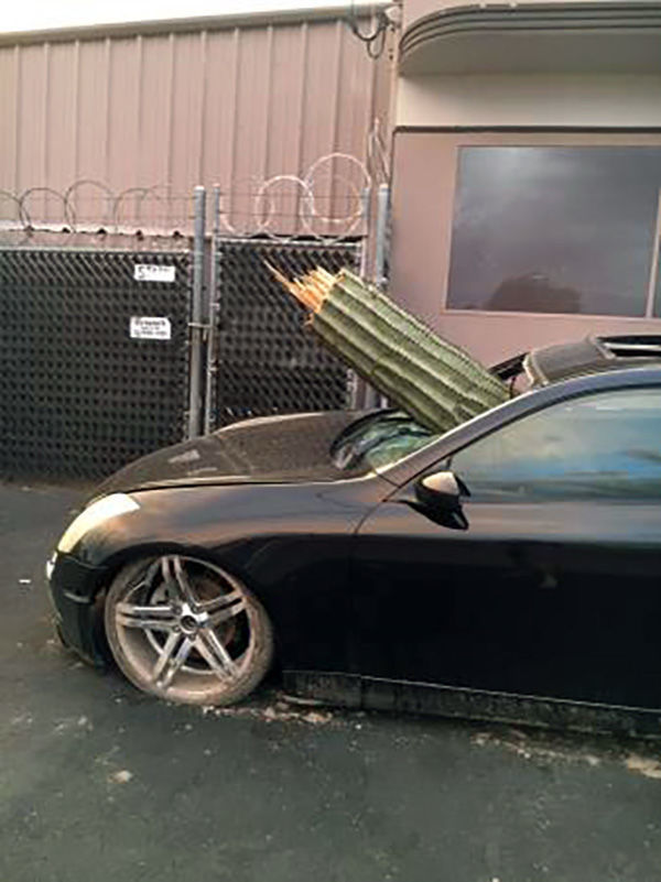 No, Tucson's cactus-crash car isn't really for sale on ...