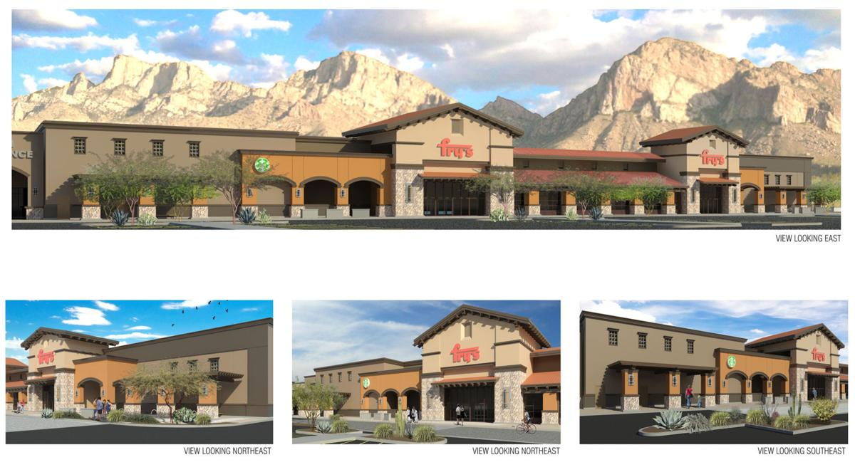 Construction Is Underway On A New Frys Grocery Store North Of