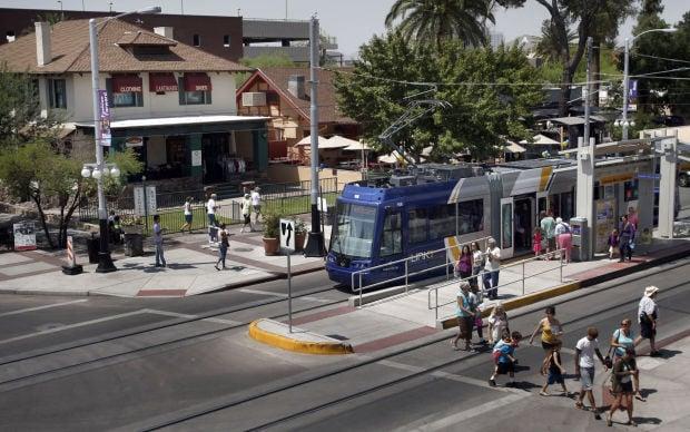 Streetcar at Main Gate Square