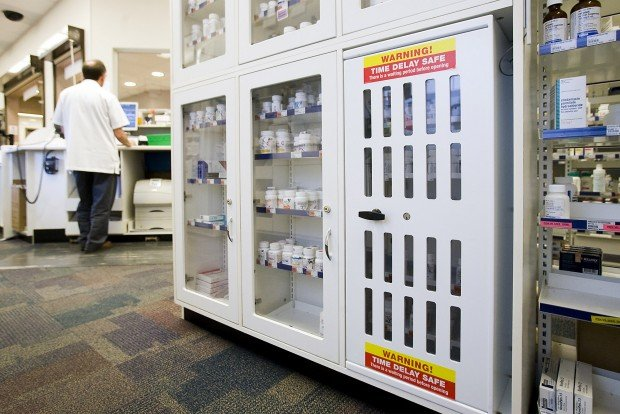 Walgreens' time cabinets aim to thwart drug heists | News About
