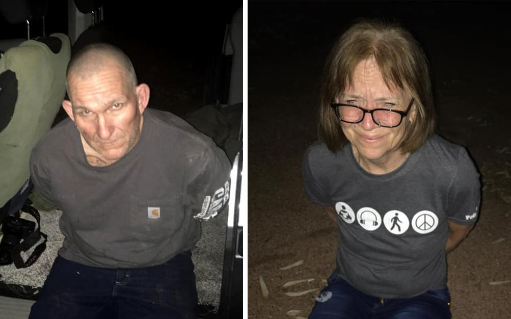 Tip leads authorities to fugitive Tucson couple in remote area of Gila County