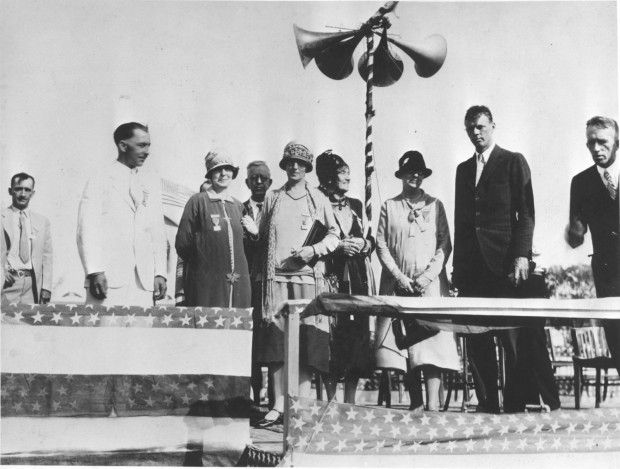 1927: First and largest municipal airport dedicated by Lindbergh