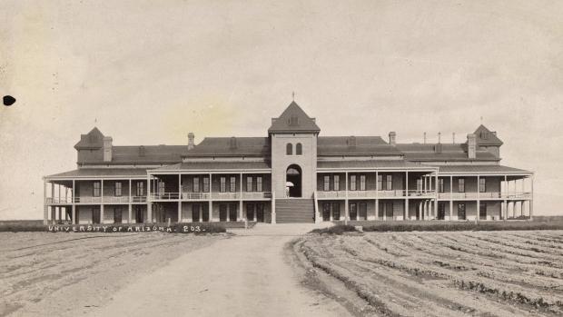 48 historical photos of the University of Arizona