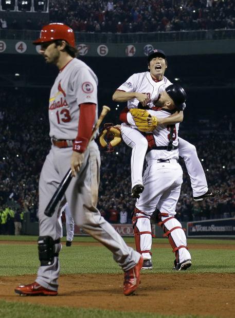 APTOPIX World Series Cardinals Red Sox Baseball