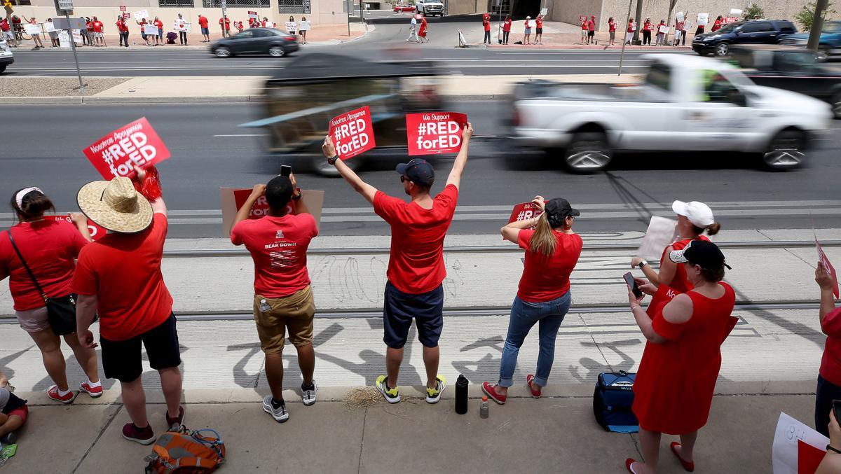 Arizona Teacher Walkout: Day One