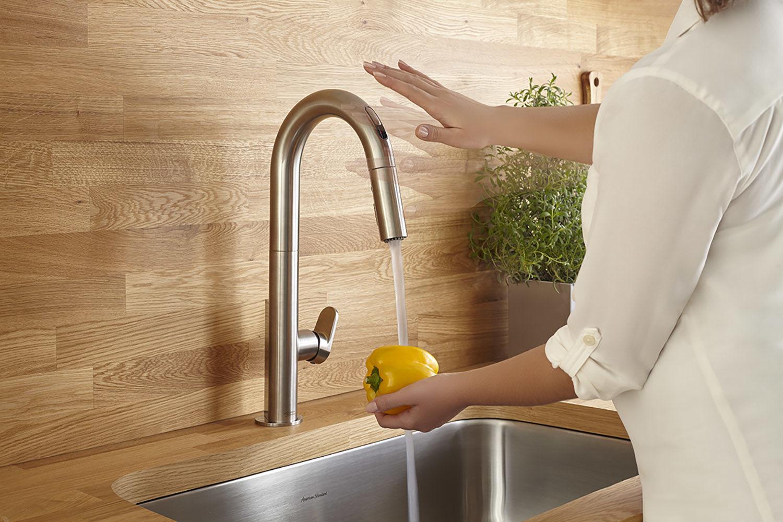 Kitchen Faucet. Running The Hot Water Recirculating Pump ...