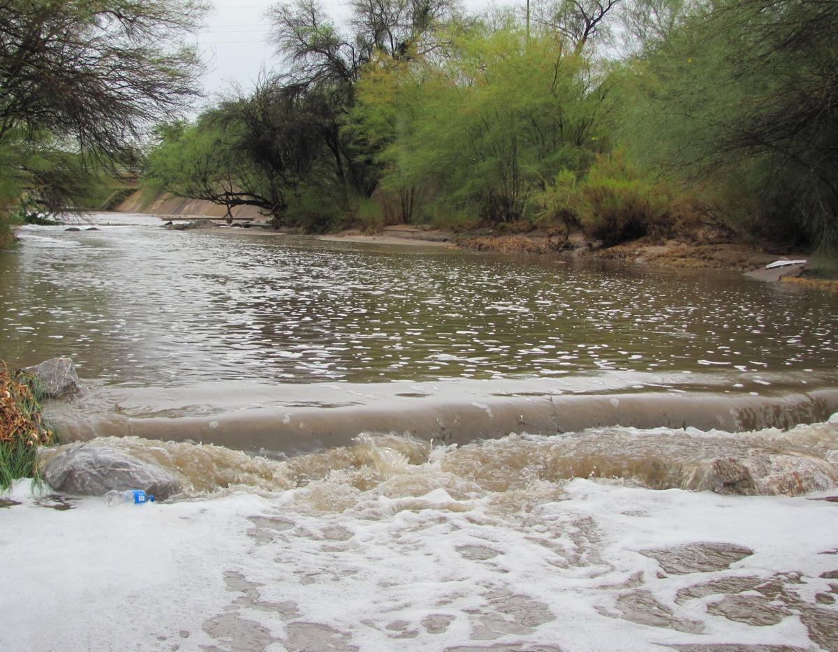 Alamo Wash flow