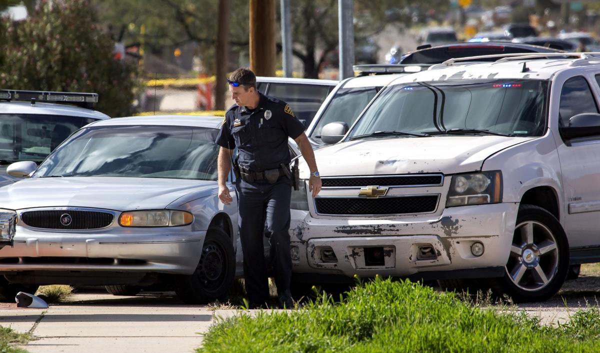 Tucson Police Department pursuit and collision