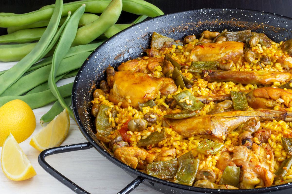 Paella Valenciana - Spanish Food